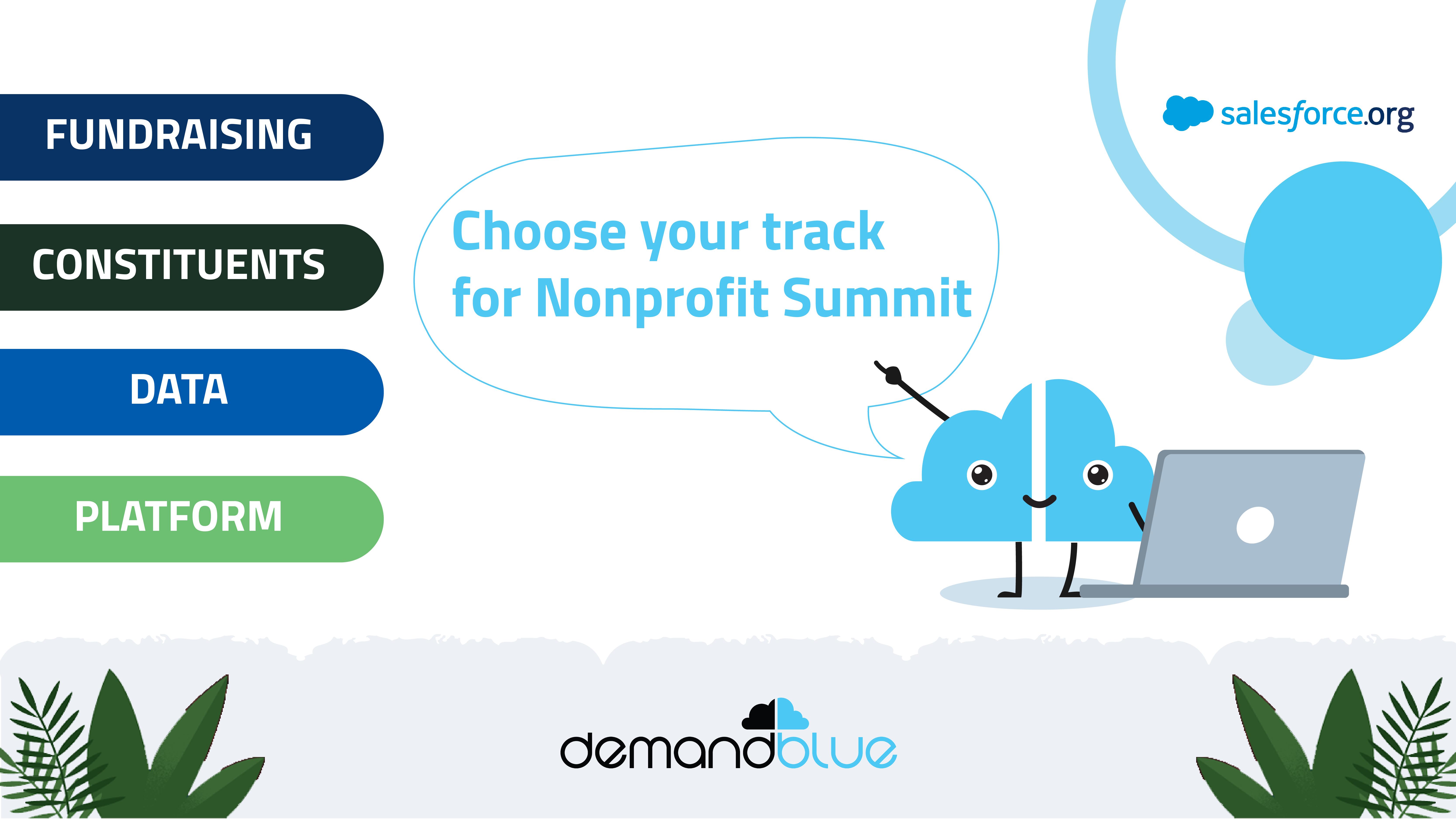 4 Tracks for Nonprofit Success at #NonprofitSummit21